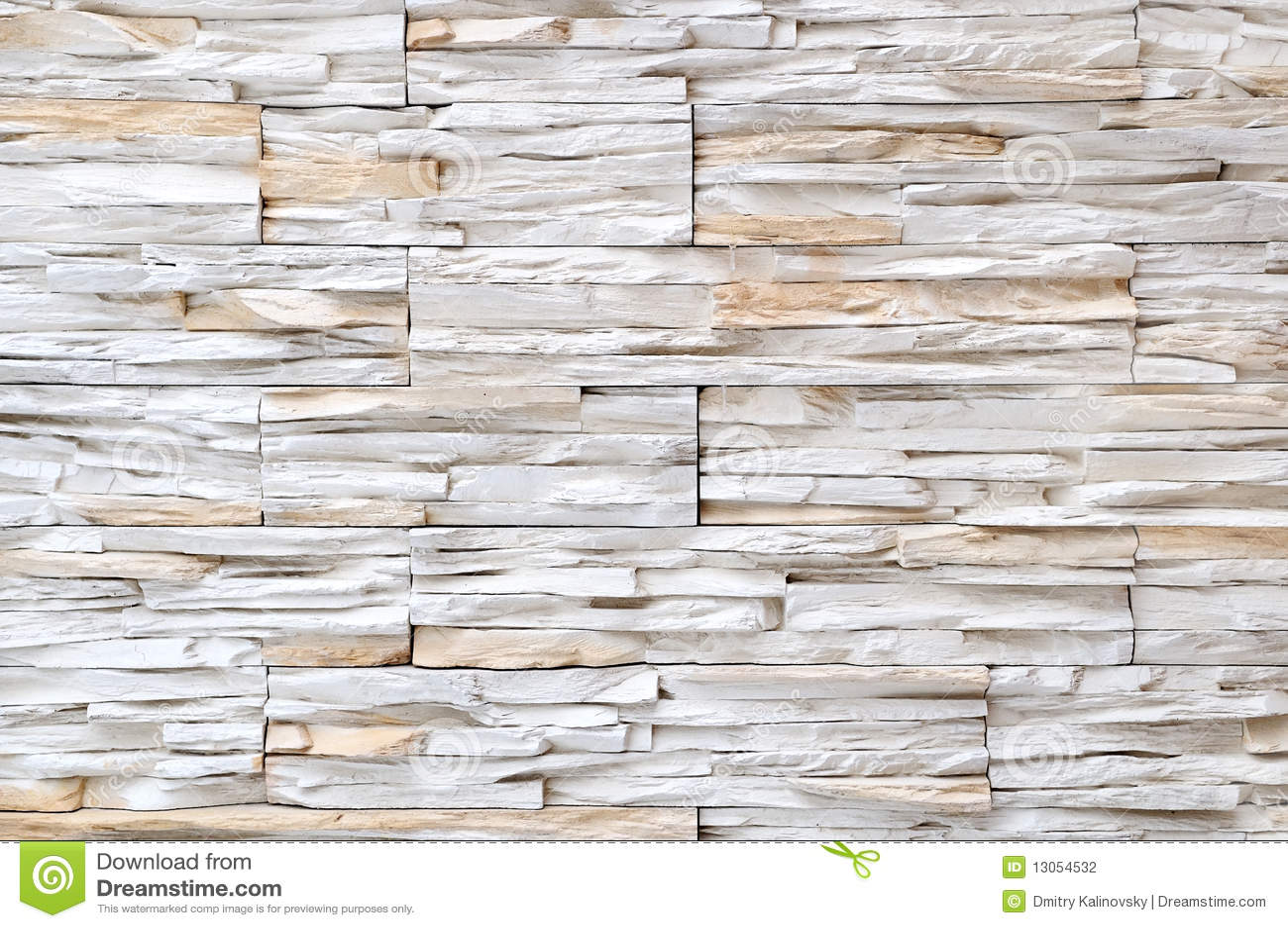 Struttura bianca della parete di pietra del mattone - Parete interna in pietra ...