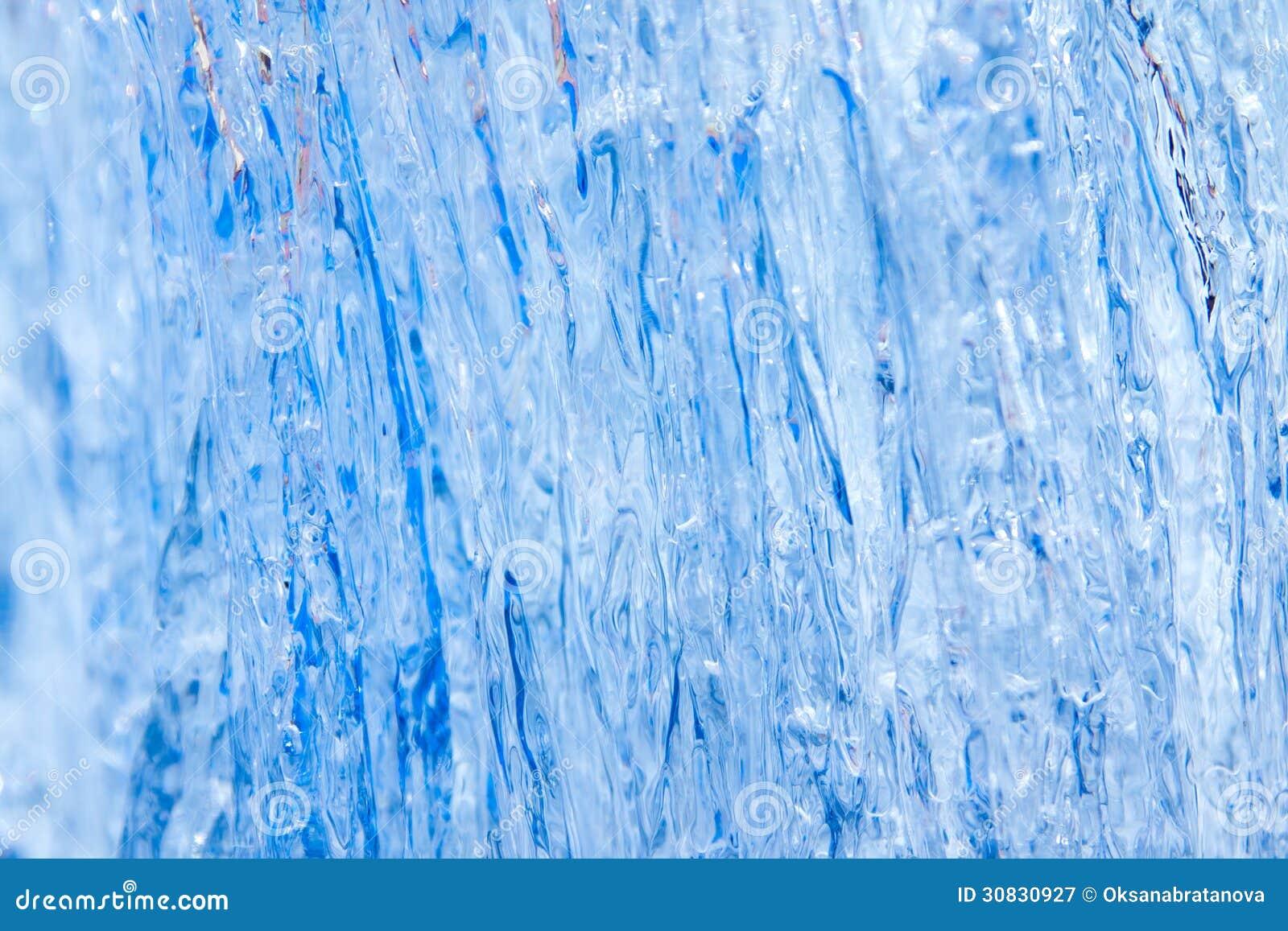 Struttura blu del ghiaccio