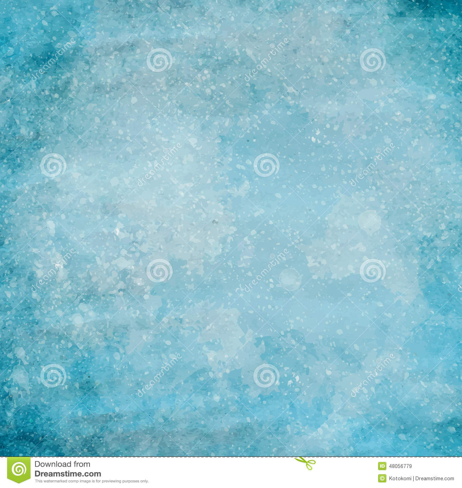 Struttura blu della carta di lerciume con le piccole gocce di pittura bianca Fondo di vettore