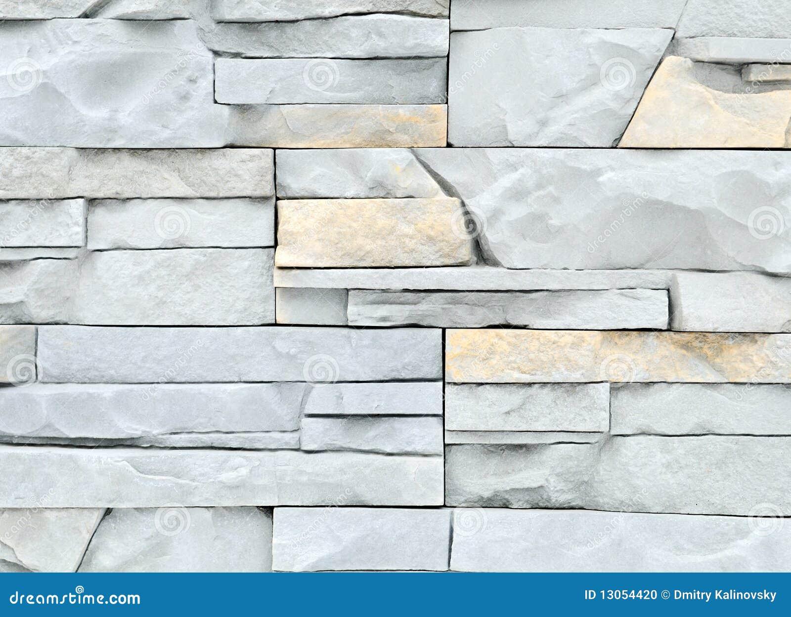 Struttura chiara della parete di pietra del mattone - Pietra parete interna ...