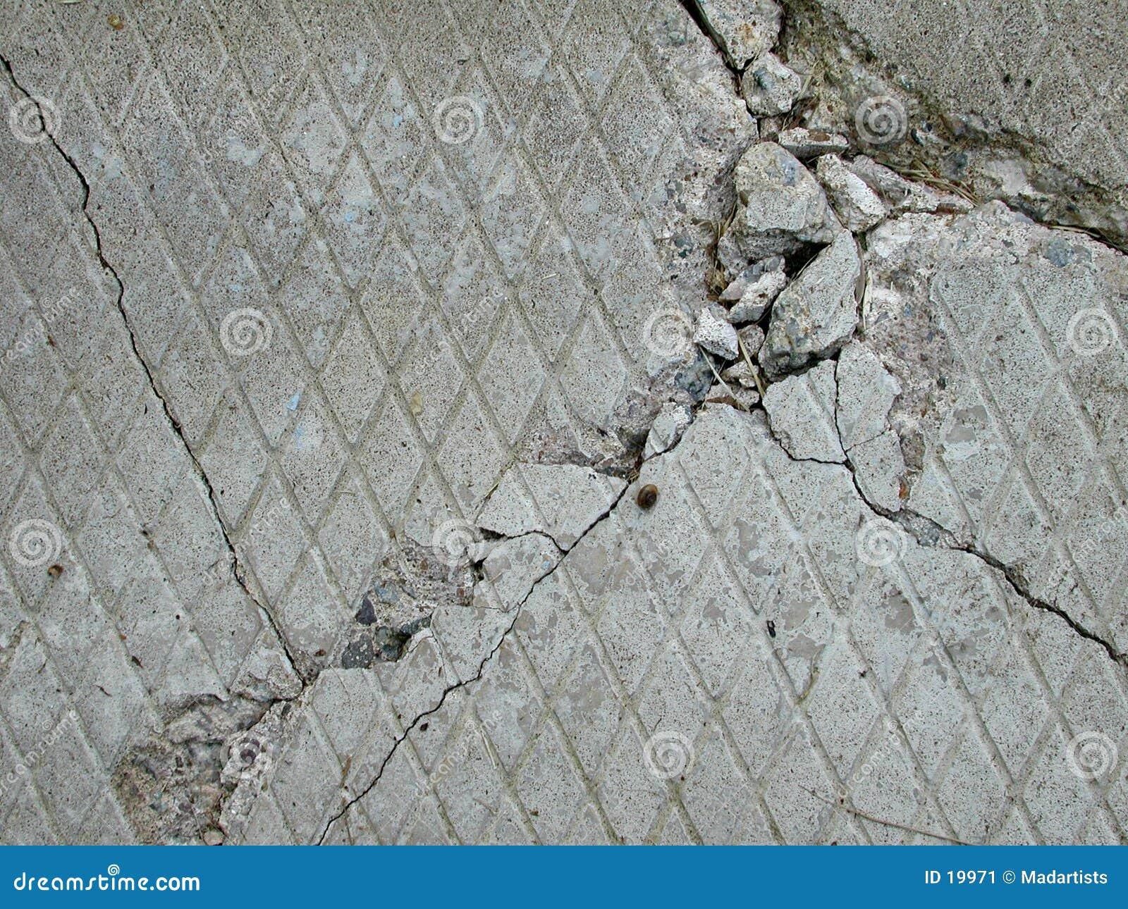 Struttura concreta del mattone del cemento