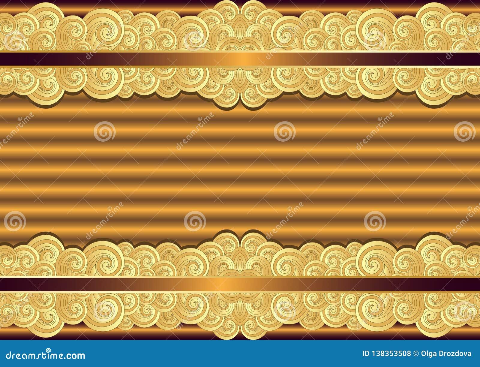 Struttura d annata dell oro e del bronzo