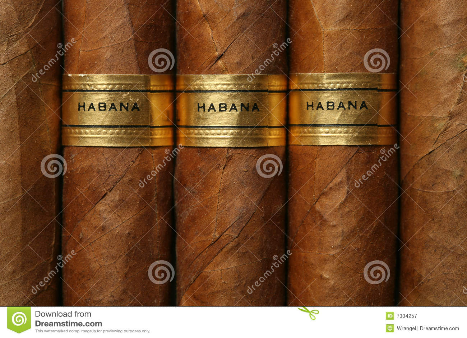 Struttura dei sigari di Avana