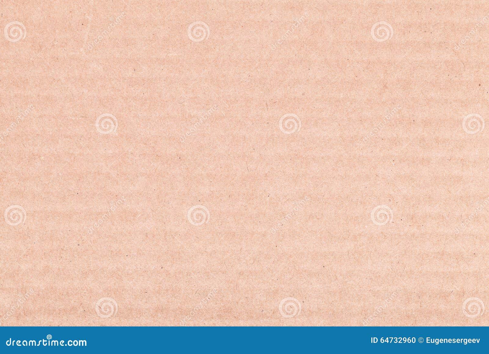 Struttura del fondo del primo piano dello strato del cartone di Brown