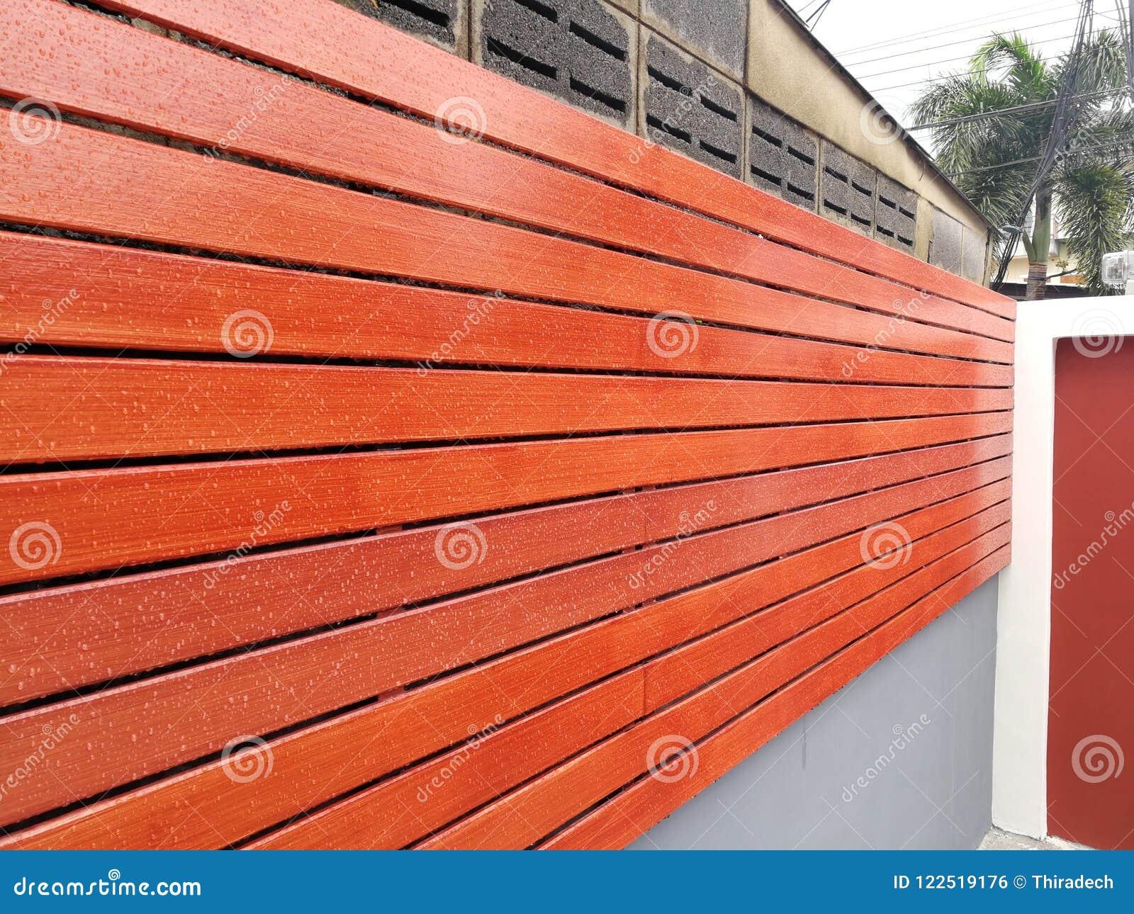 Struttura del fondo di legno della parete dell assicella