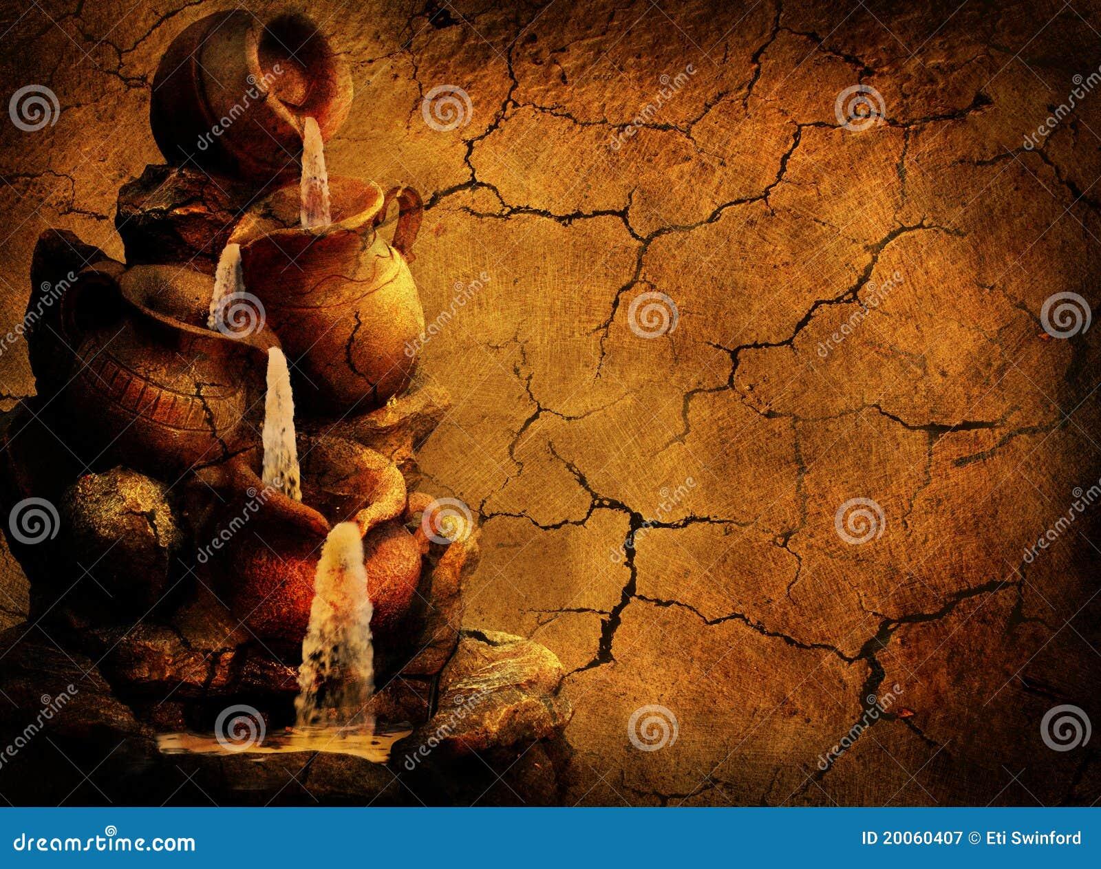 Struttura del grunge delle terraglie