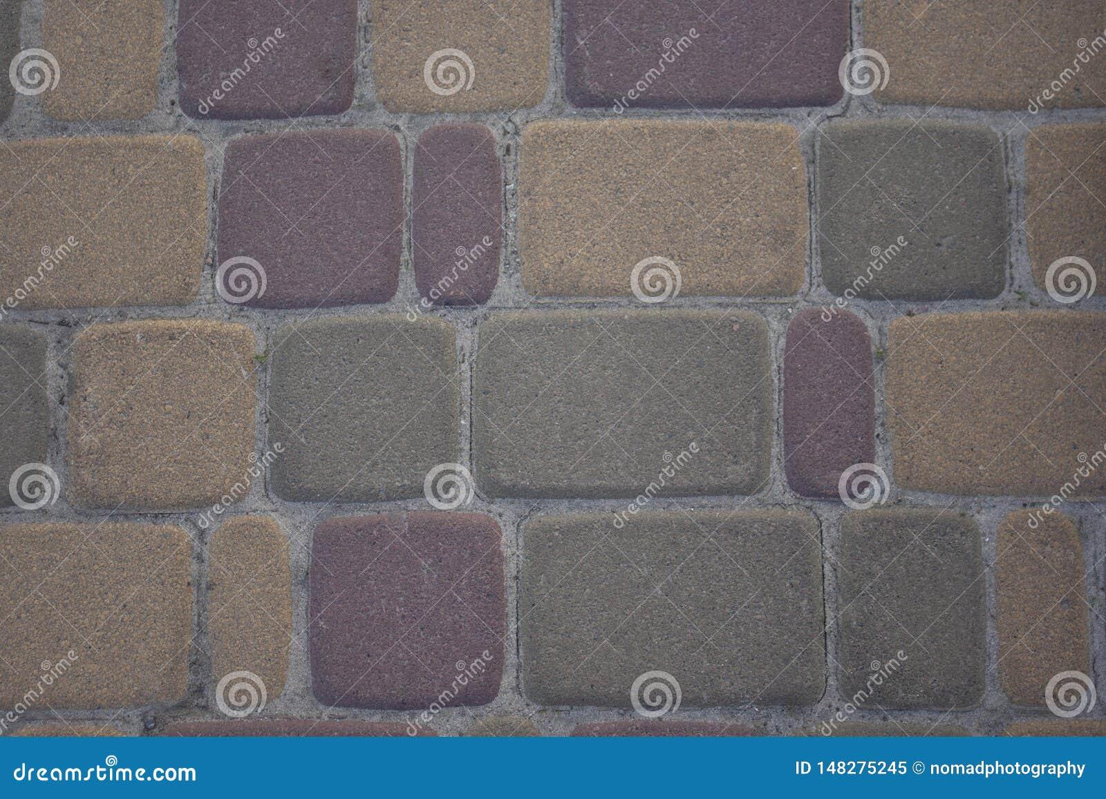 Struttura del marciapiede o della parete di pietra