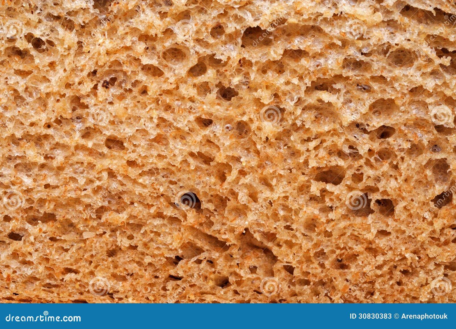 Struttura del pane integrale.