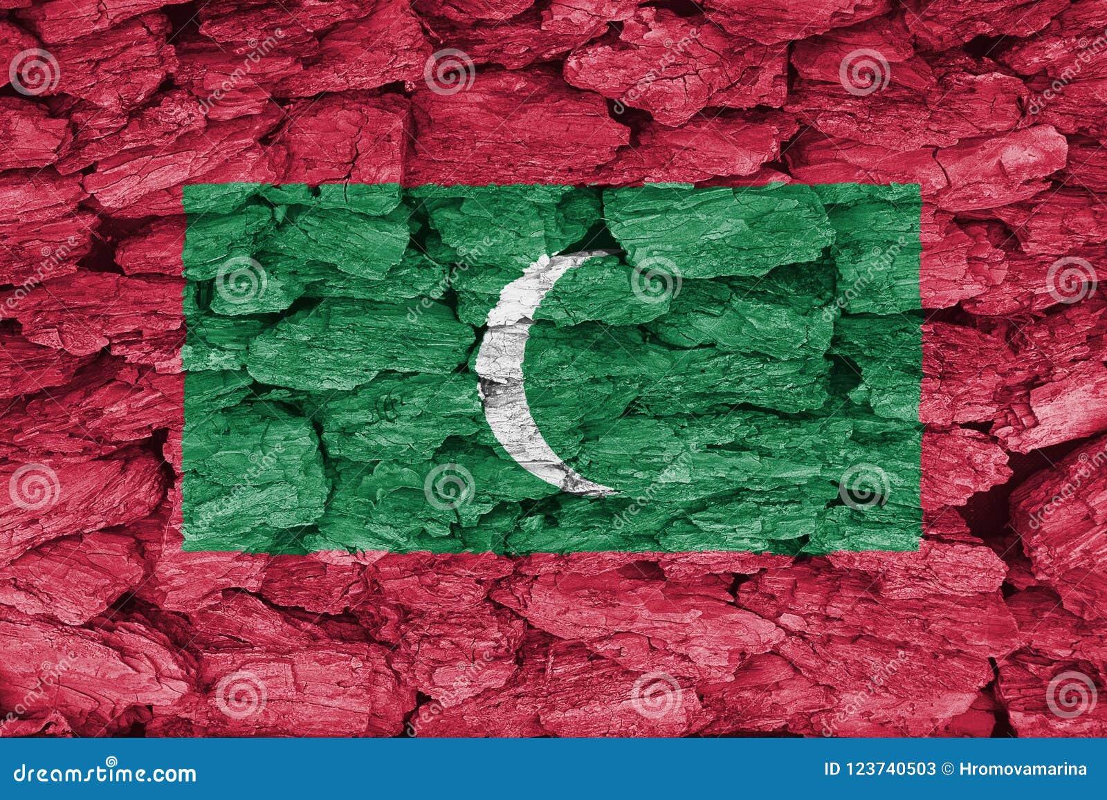 Struttura della bandiera delle Maldive