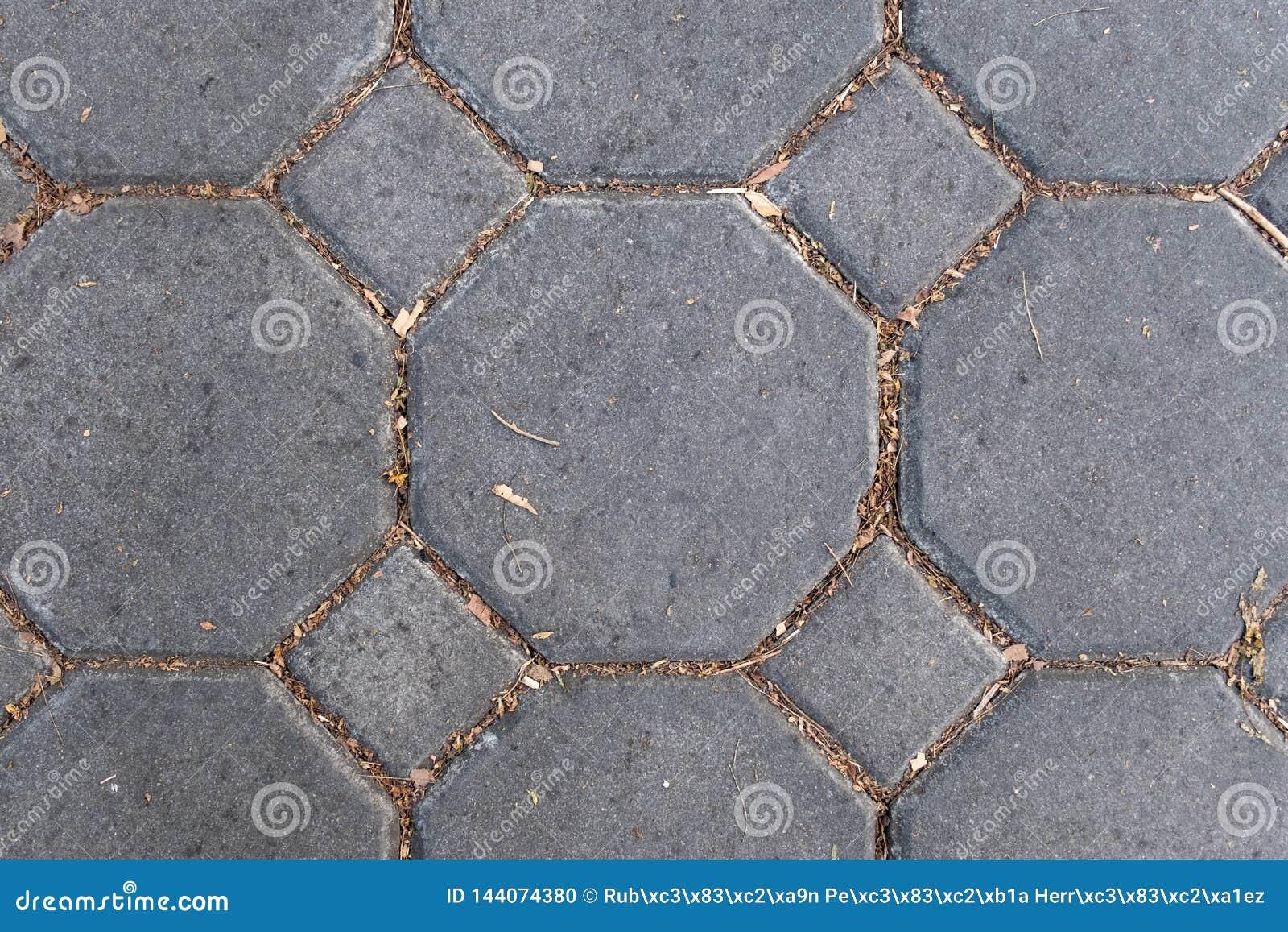 Struttura della fine del pavimento del modello della pietra del mattone su