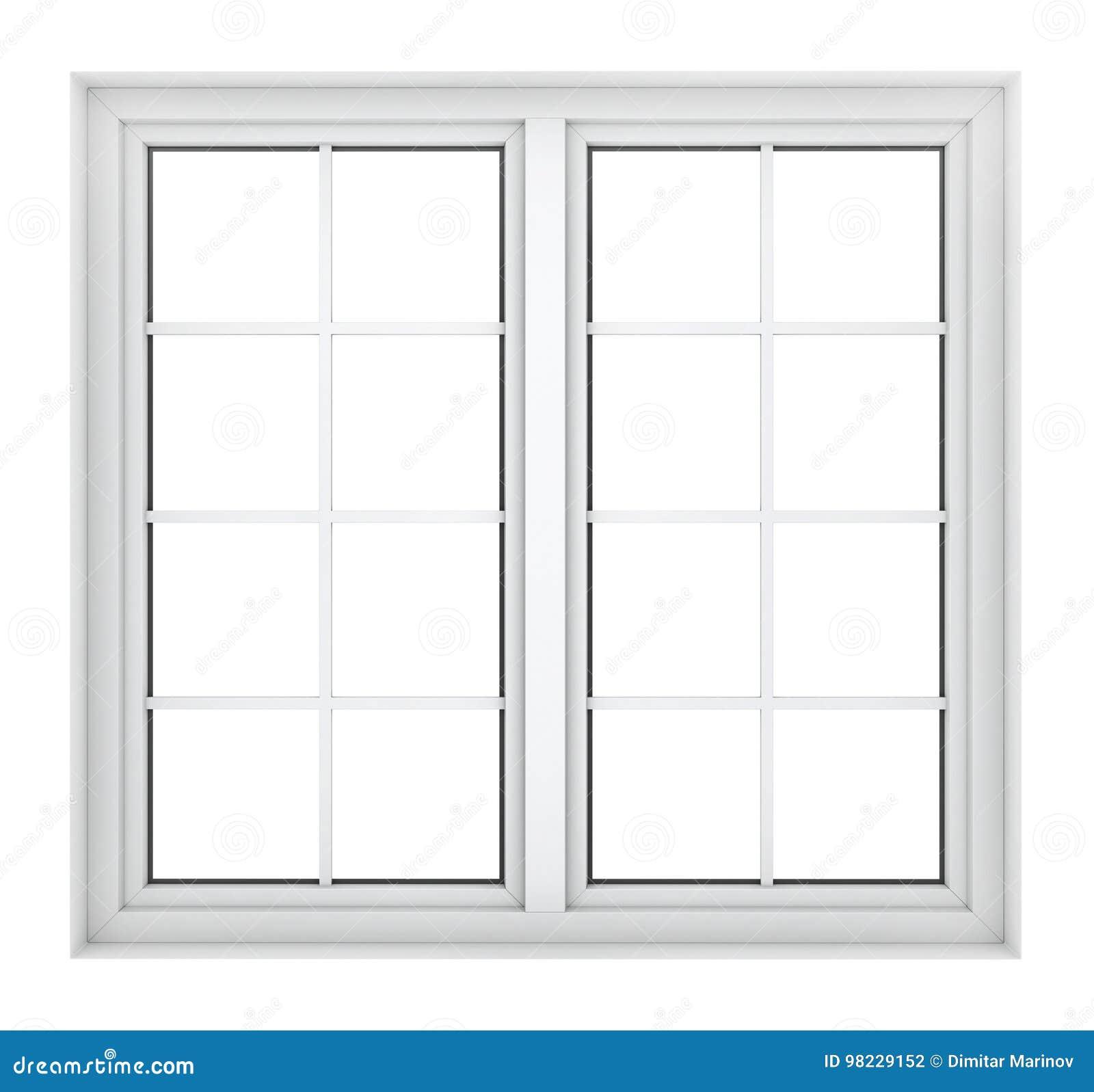 Struttura della finestra di plastica