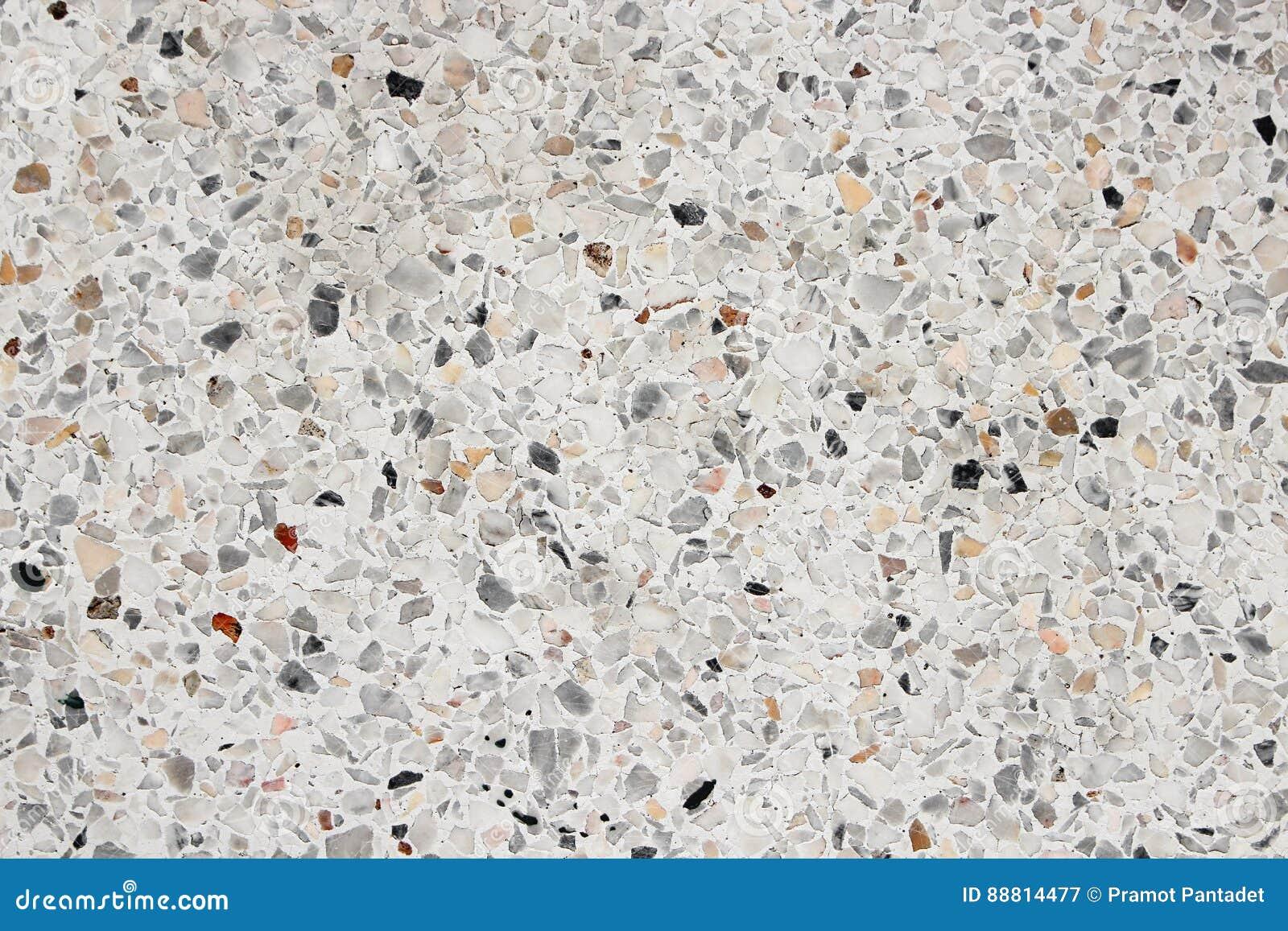 Struttura della parete di pietra pavimento della superficie del marmo di terrazzo per fondo - Pavimento per terrazzo ...