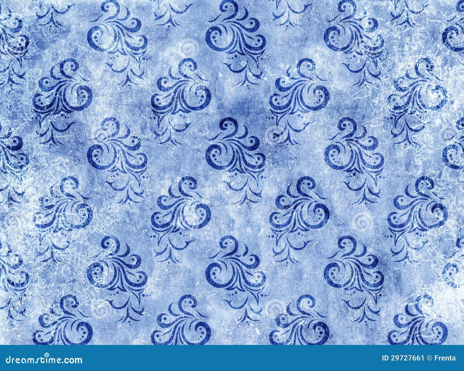 Struttura di carta con la decorazione floreale - Papel de pared de rayas ...