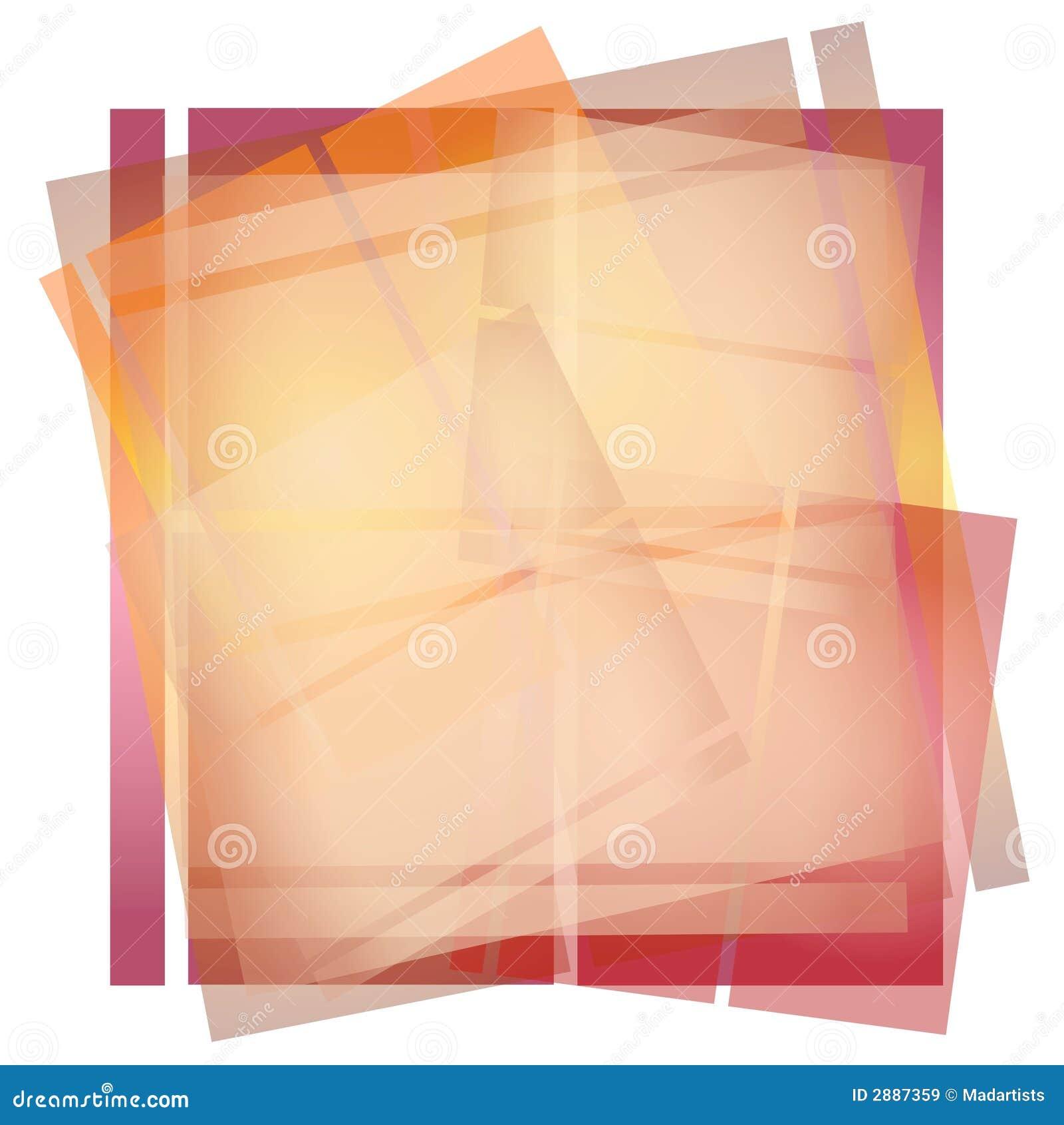 Struttura di carta opaca di Origami