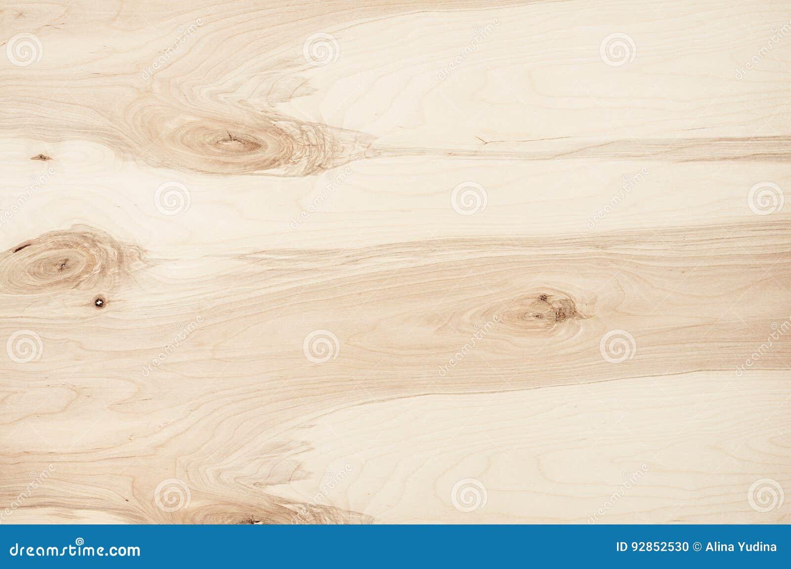 Struttura di legno d annata del compensato beige leggero Vista superiore, bordo di legno