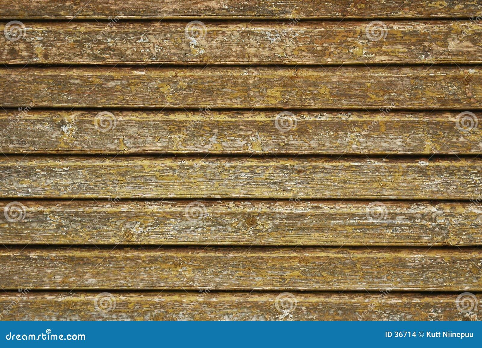 Struttura di legno della parete