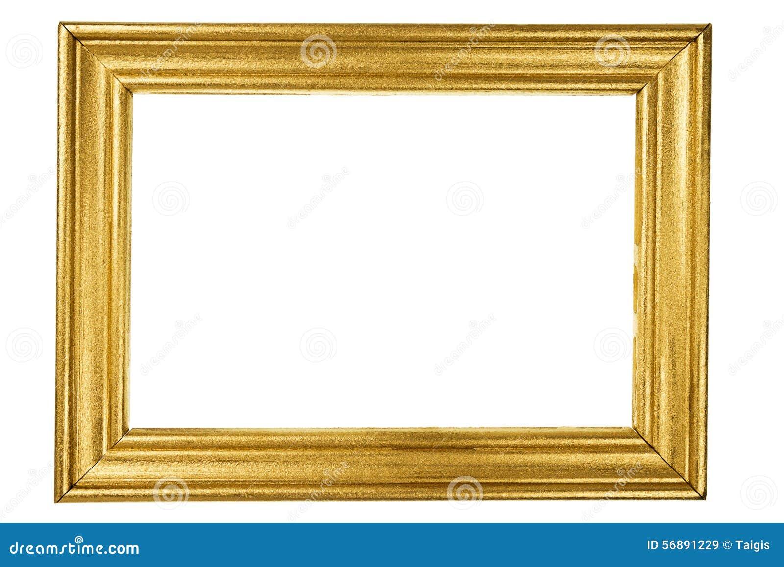 Struttura di legno dipinta con oro