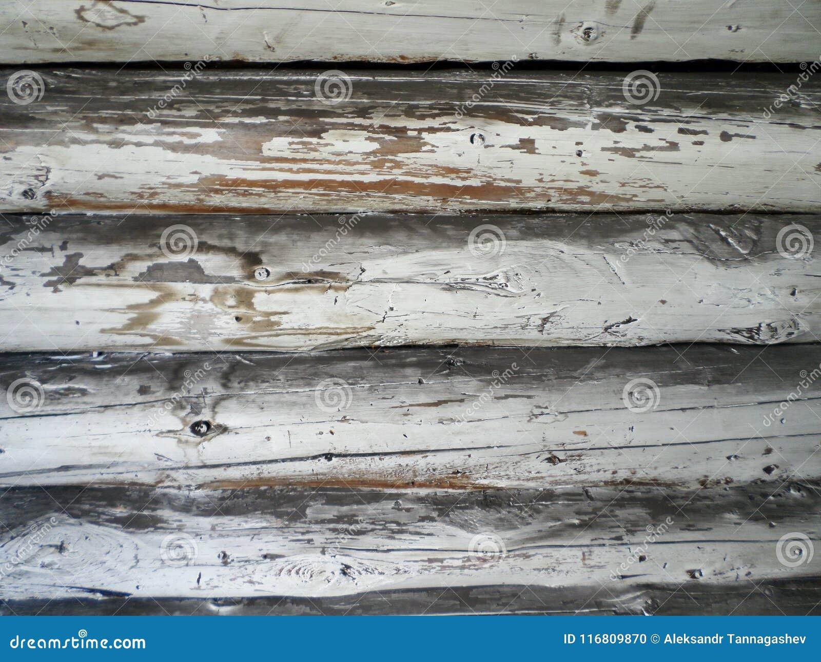 Struttura di legno, fondo di legno vuoto