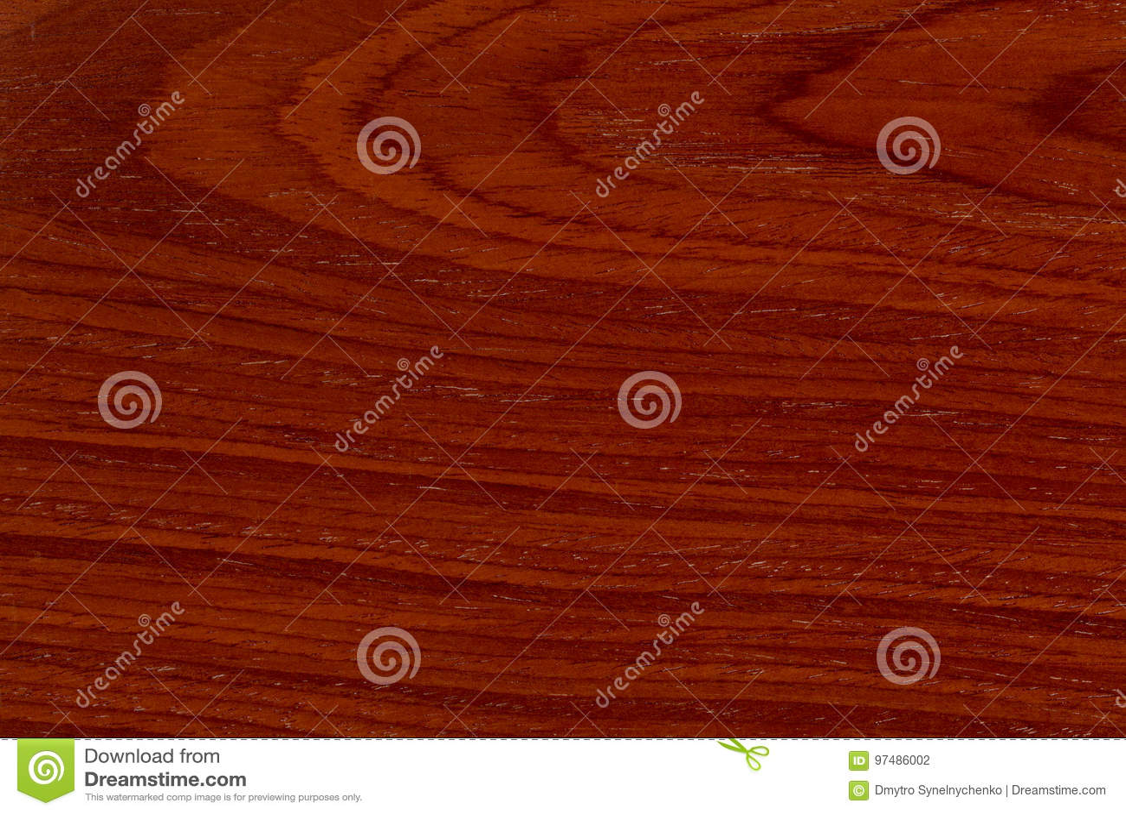 Struttura di legno naturale rossa