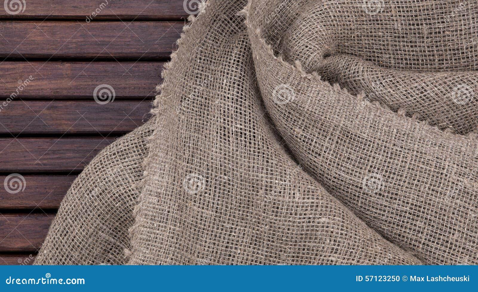 Struttura di legno scura di lerciume e struttura del tessuto
