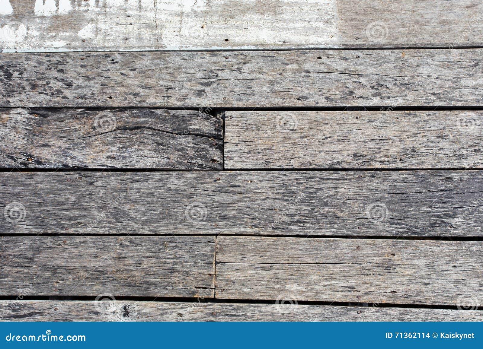 Struttura di legno vecchi comitati del fondo