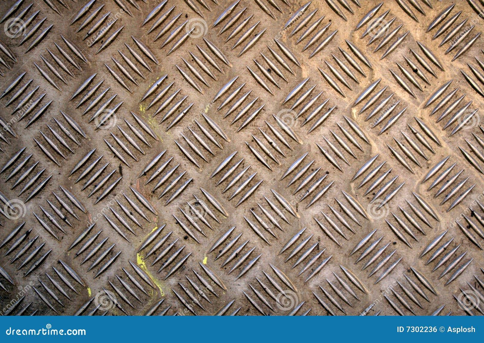 Struttura di piastra metallica di Grunge
