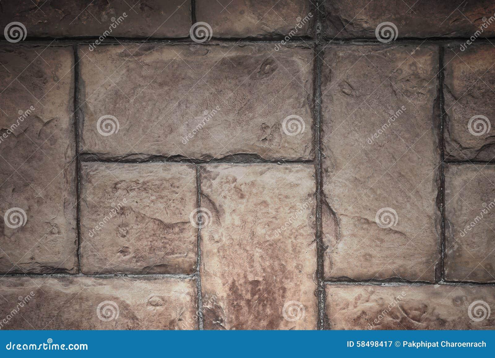 Struttura di pietra del fondo del muro di mattoni del cemento delle