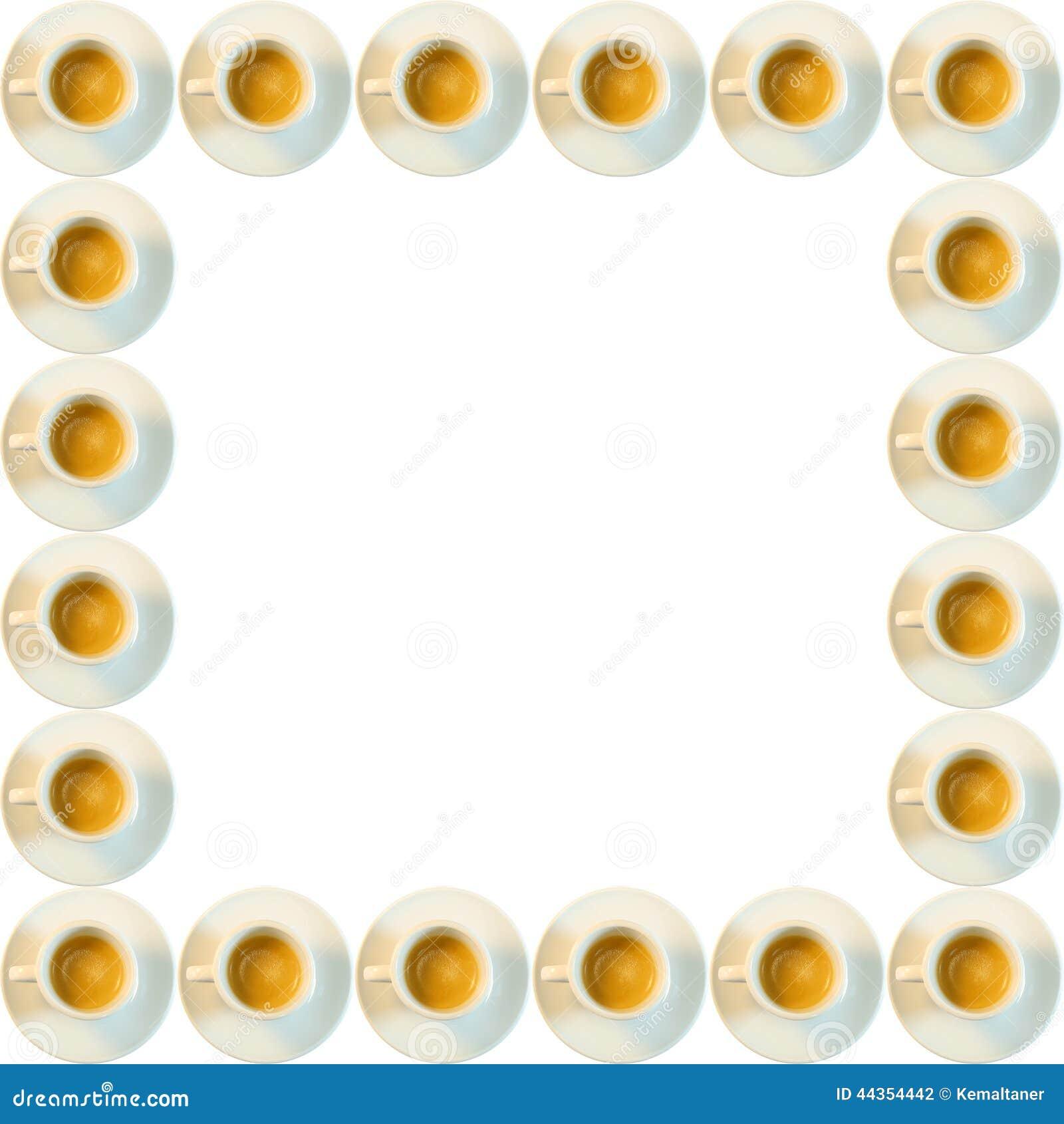 Struttura di tazze del caffè