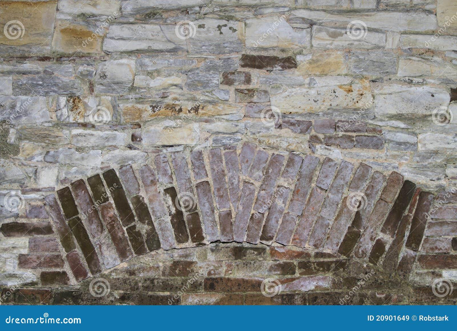Struttura di una parete di pietra con l 39 inserzione del for Costo del mattone da costruire