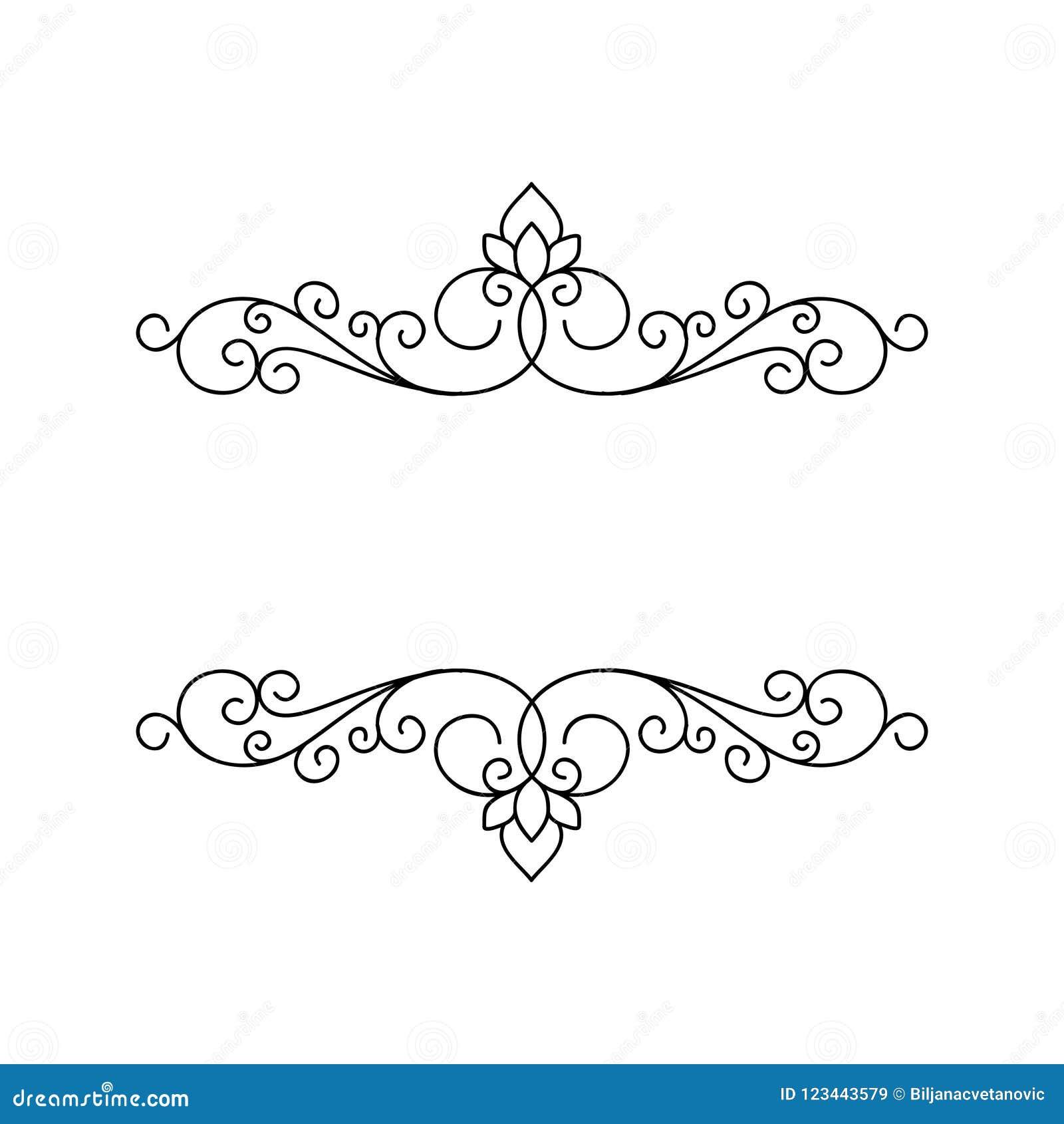 Struttura elegante ornamentale