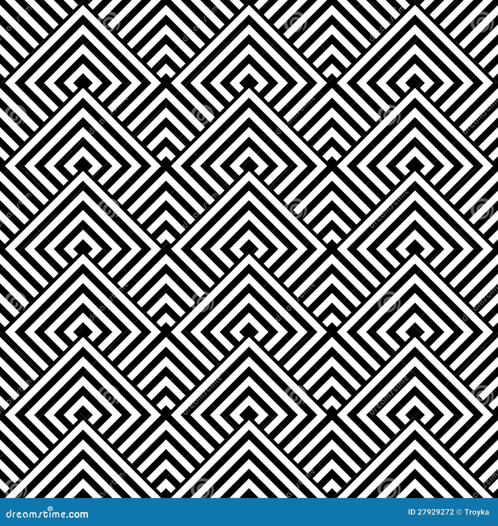 Struttura Geometrica Senza Giunte Illustrazione Vettoriale