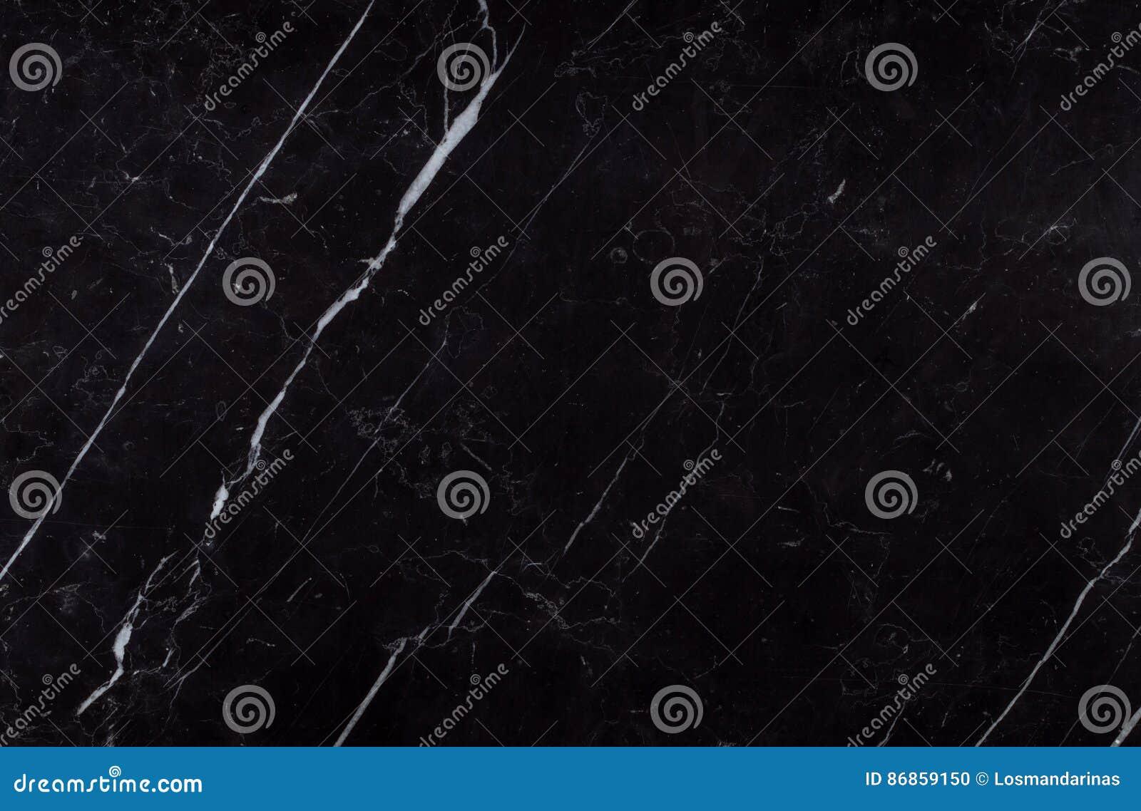 Struttura naturale del marmo del nero di Nerone Marquina dello Spagnolo