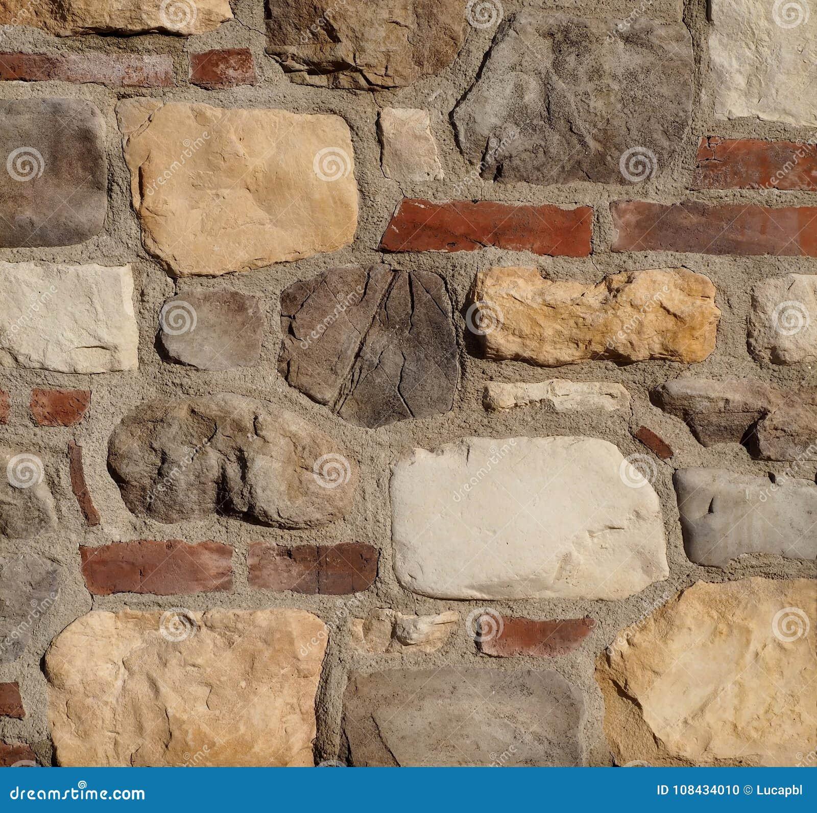 Muro Fatto In Pietra struttura rustica della parete di pietra la parete è fatta