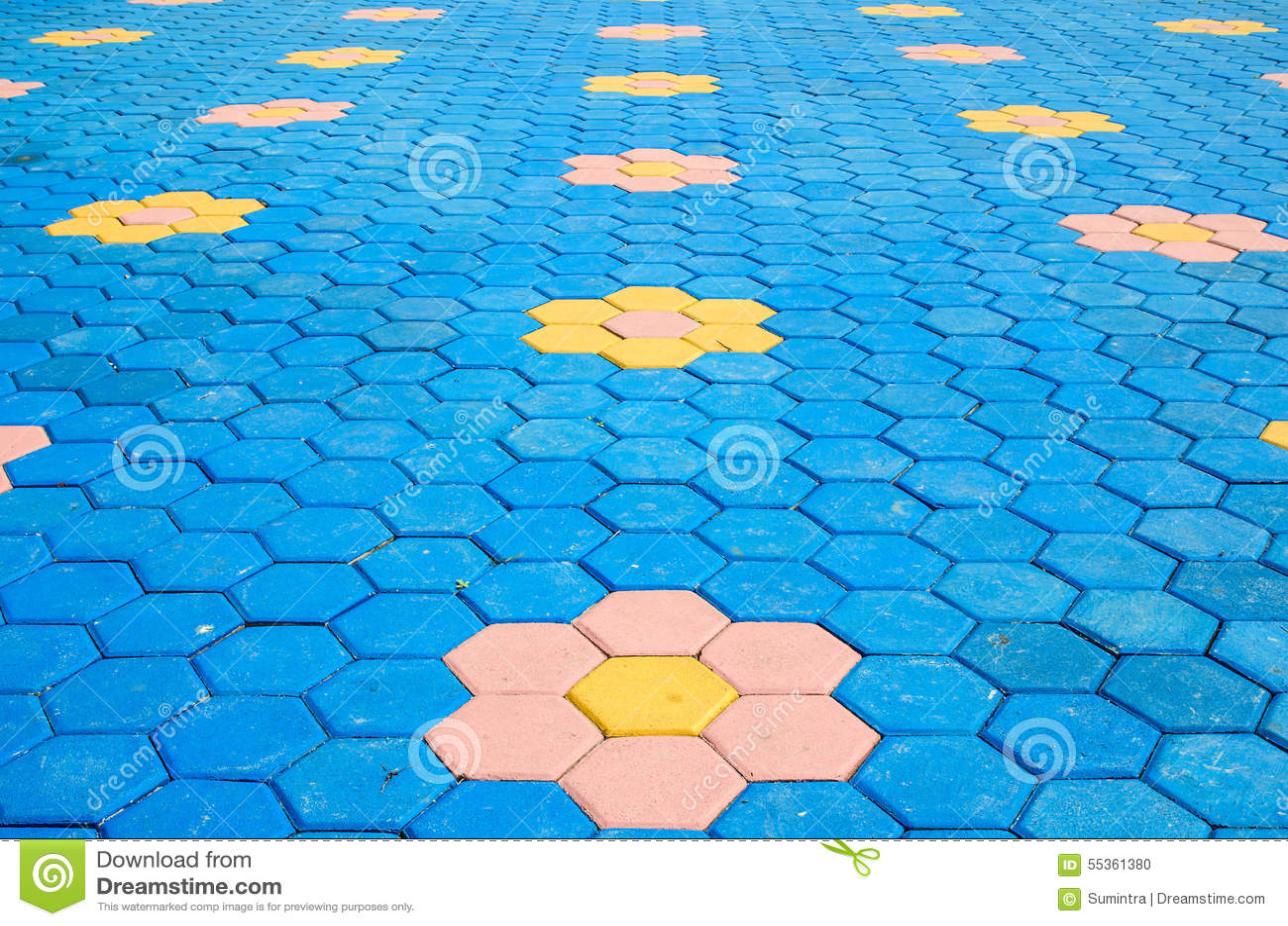 Struttura variopinta delle mattonelle della decorazione del mattone del pavimento