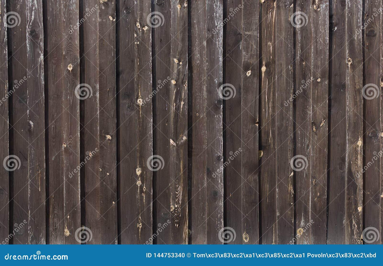 Strutture del primo piano di legno verniciato della parete della plancia per fondo