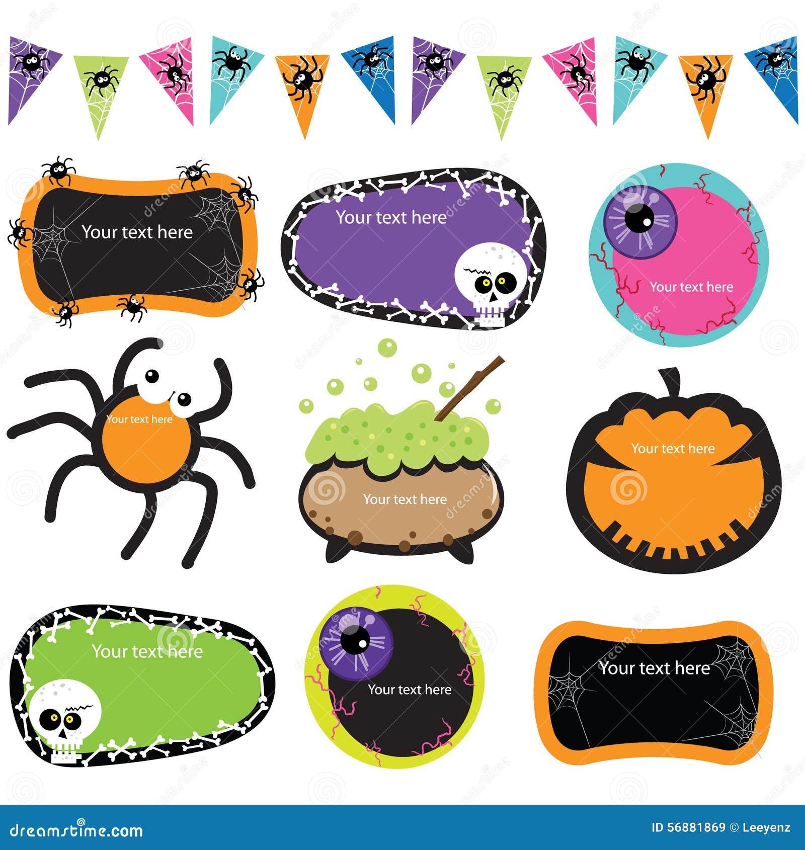Strutture dell invito di Halloween