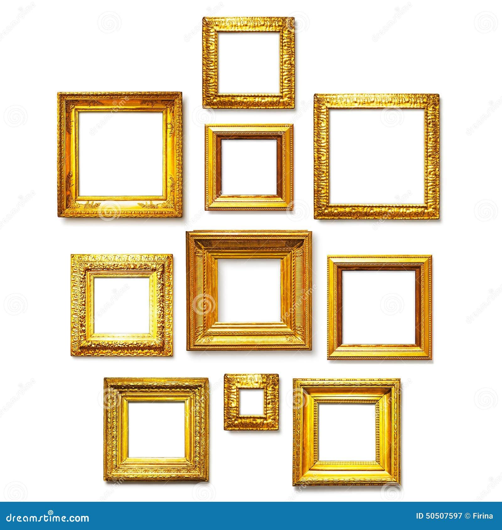 Strutture quadrate dell oro