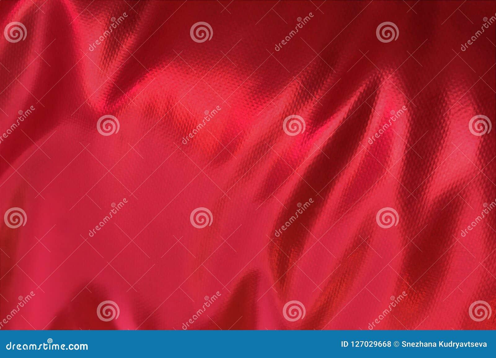 Strutturi le onde leggere da colore approssimativo di Borgogna della pelle del tessuto Fotografie Stock Libere da Diritti