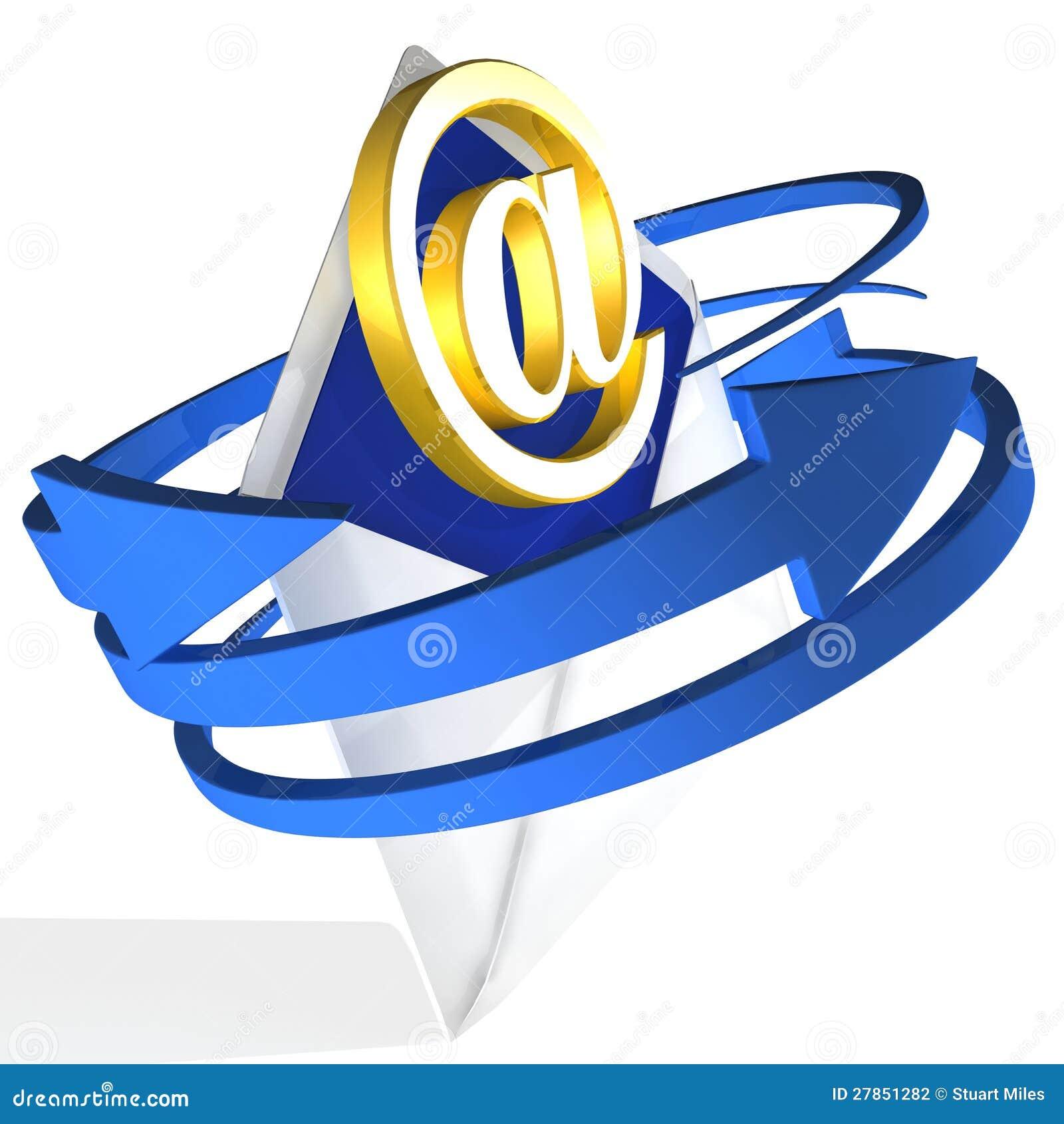 Strzała TARGET231_0_ Kopertę Pokazywać Emaila