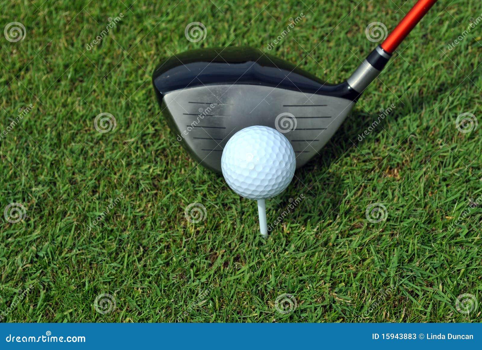 Strzału golfowy zabranie