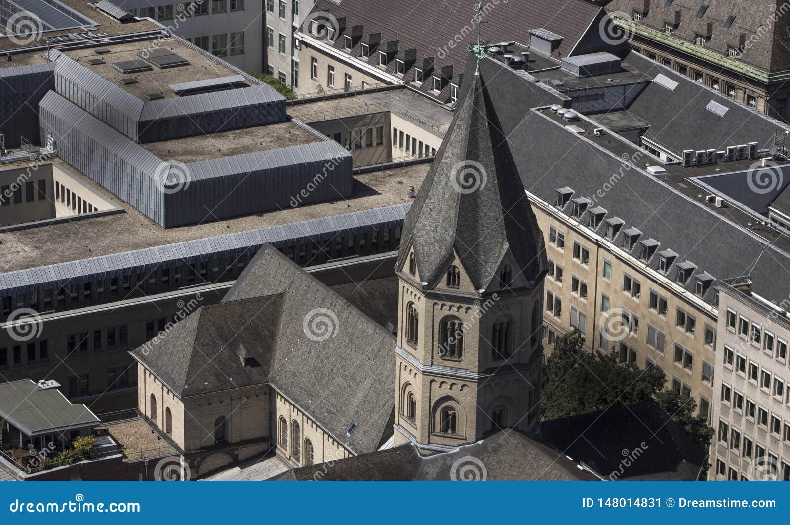 Sts Andrew kyrka i Cologne