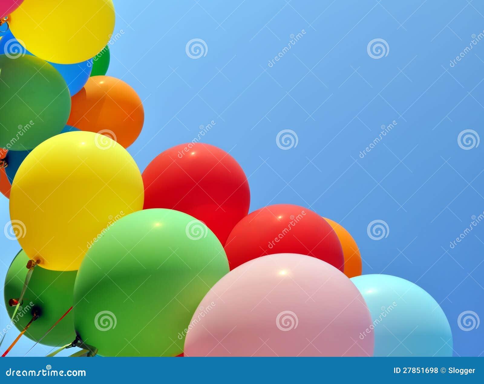 Stubarwni balony