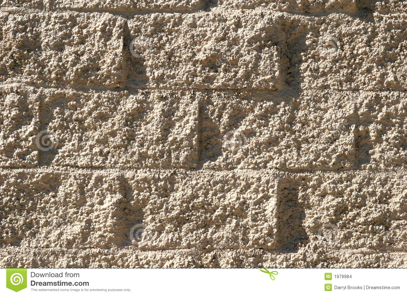 Stucco and brick stock images image 1979984 for Concrete block stucco