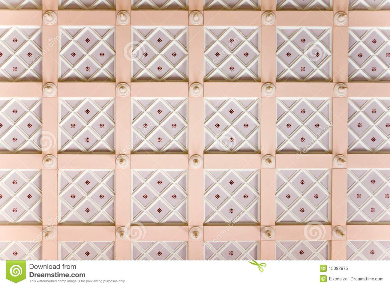 Stucco Ceiling Royalty Free Stock Photo - Image: 15092875