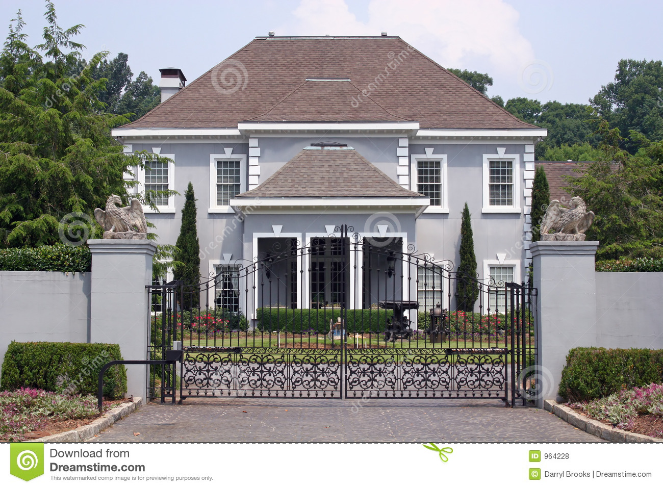Stucco House Royalty Free Stock Photos Image 964228
