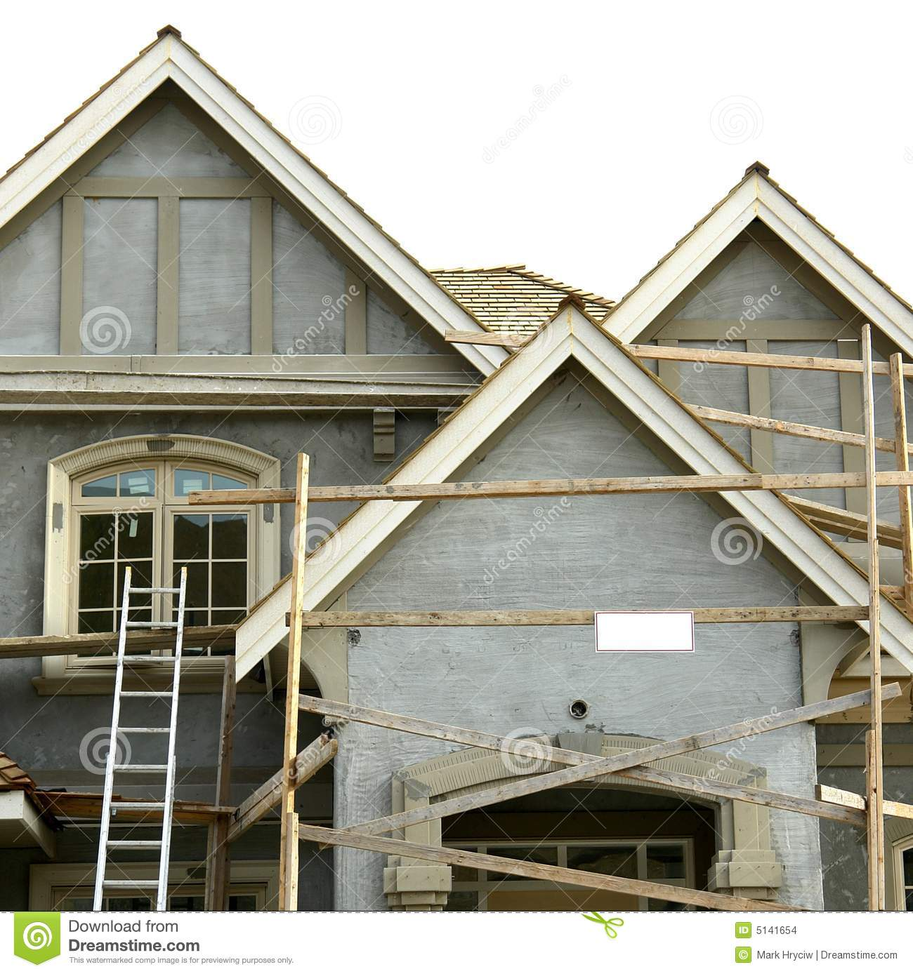 Stucco House Home Exterior Stock Photo Image Of Coat 5141654