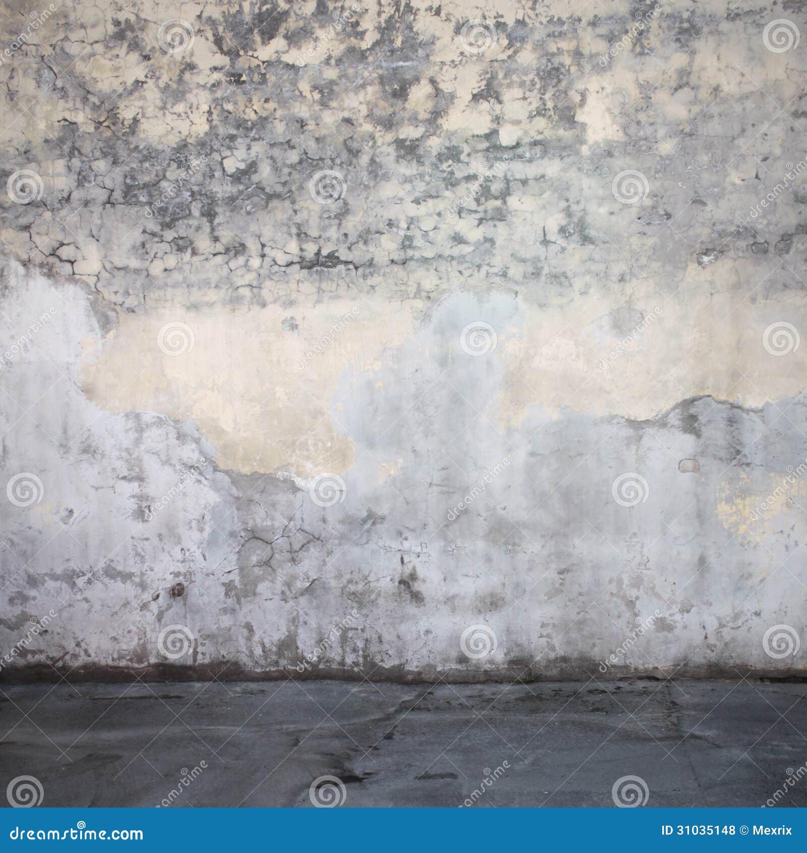 Floor Grunge Interior Stucco Wall ...