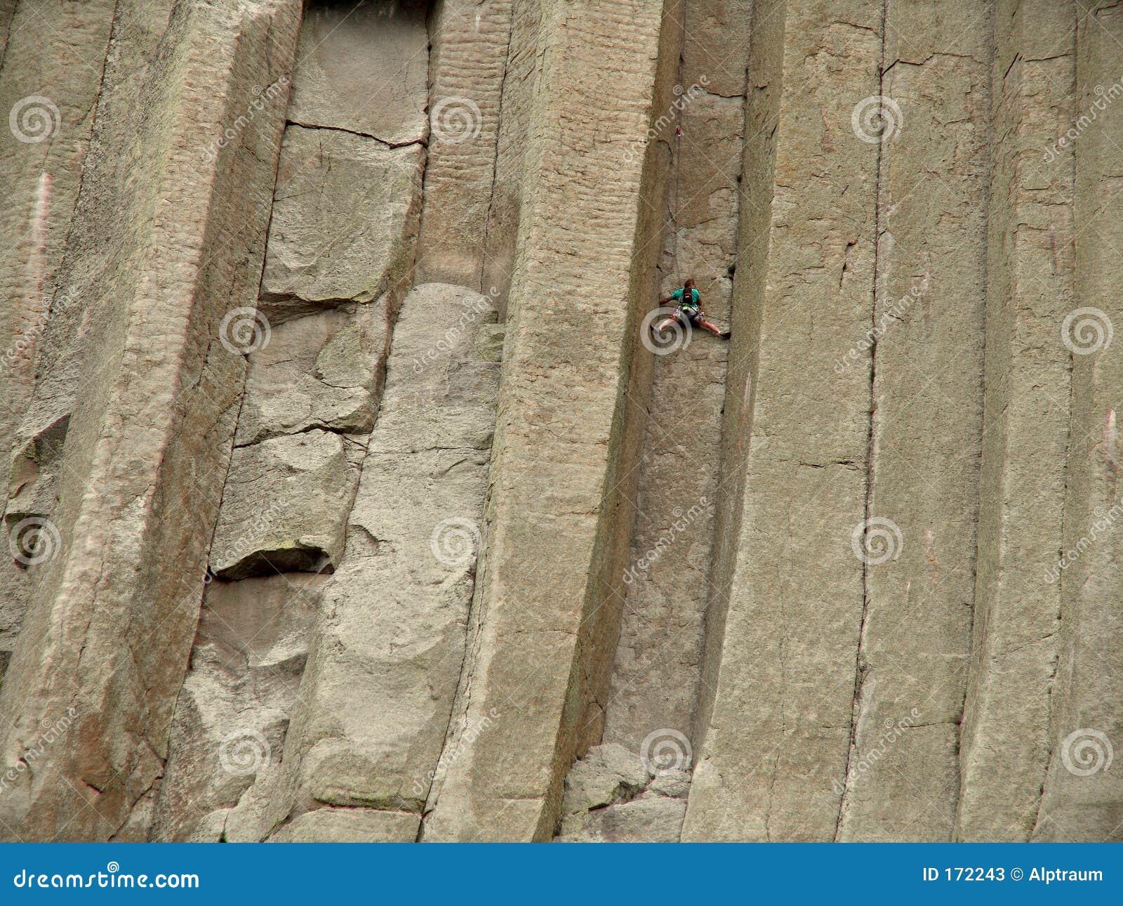 Stuck - climbing devils tower