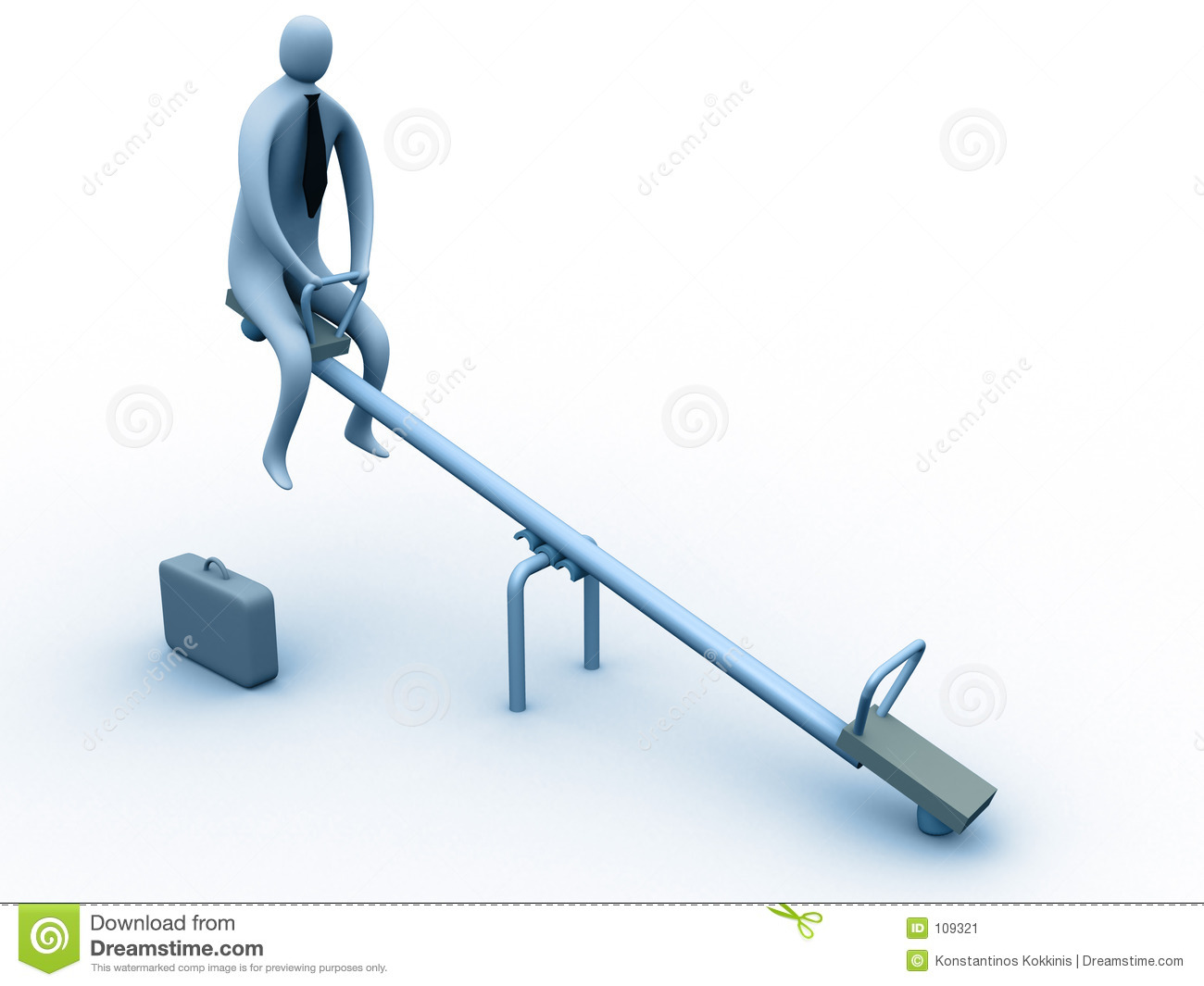 Stuck on the seesaw stock image image 109321 for Seesaw plans designs