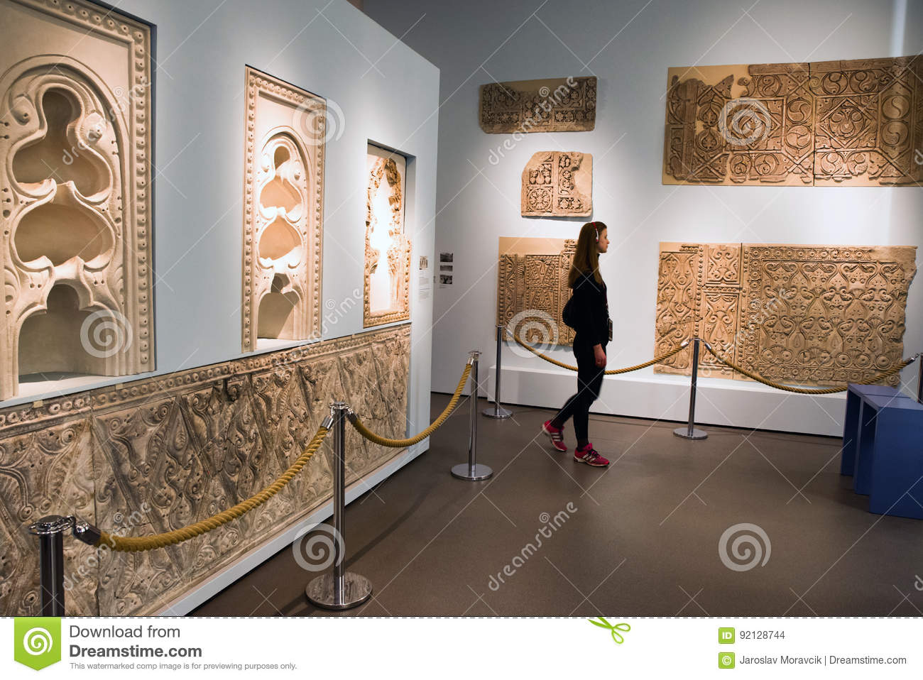 Stuckdekorationen Samarras Der Irak In Pergamon-Museum, Berlin, GE ...